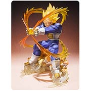 Bandai Dragon Ball Z Figuarts Zero Super Saiyan Vegeta Figure