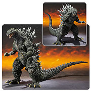 Bandai  SH MonsterArts Godzilla 2000 Millenium Special Color Version Figure