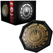 Battle Galactica Colonial Seal Coaster Set