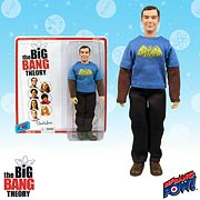 Big Bang Pow Big Bang Theory Sheldon Cooper in Vintage Batman T-Shirt Action Figure