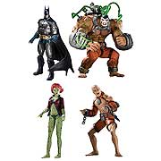Arkham Asylum Series 2 Action Figure Batman Bane Poison Ivy Zsasz