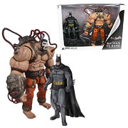 DC Direct Arkham City Batman vs Bane 2 Pack Action Figures