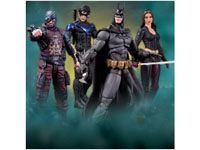 DC Direct Arkham City Series 4 Batman Deadshot Nightwing Talia Al Ghul