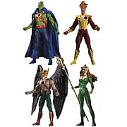 Brightest Day Action Figures Series 2 Martian Manhunter Firestorm Hawkman Mera