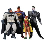 DC Direct Batman Dark Knight Returns Action Figure Box Set Batman Joker Superman Robin