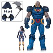 DC Direct Icons Darkseid and Grail 2 Pack Deluxe Action Figures