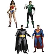 Superman Batman Wonder Woman Green Lantern