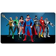 DC Direct Justice League New 52 Box Set of 7 Action Figures Aquaman Green Lantern Wonder Woman Superman Batman Flash Cyborg