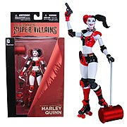 DC Direct New 52 Super Villains Roller Derby Harley Quinn Action Figure