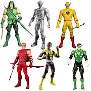 DC Universe Classic Series 20 - White Lantern Flash, Green Lantern, Green Arrow, Red Arrow, Professor Zoom, Sinestro Action Figure