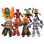 Marvel vs Capcom Minimates Series 1