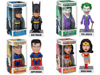 Funko Wacky Wobbler Bobbleheads DC Batman Joker Superman Wonder Woman