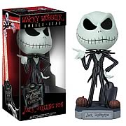 Funko Nightmare Before Christmas NBX Jack Skellington Bobblehead Wacky Wobbler
