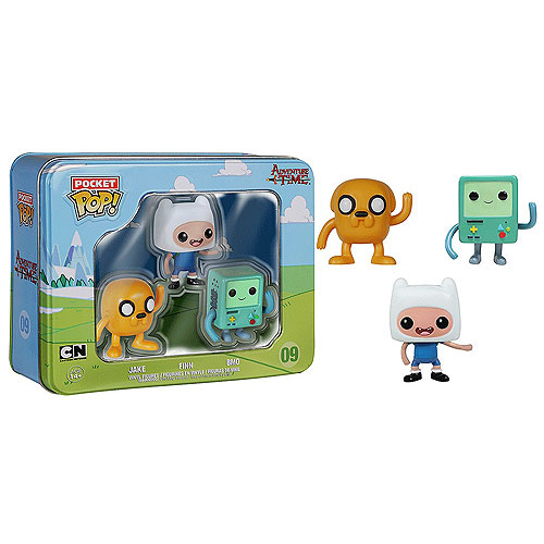 Funko Pocket Pop Mini Vinyl 3 Pack Adventure Time Jake BMO Finn Figure