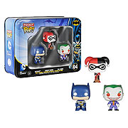 Funko Pocket Pop Mini Vinyl 3 Pack Batman Harley Quinn Joker Figure