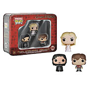 Funko Pocket Pop Mini Vinyl 3 Pack Game of Thrones Jon Snow Daenerys Targaryen Tyrion Lannister