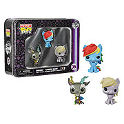 Funko Pocket Pop Mini Vinyl 3 Pack My Little Pony Rainbow Dash Discord Derby