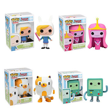 Funko Pop Vinyl Adventure Time Fionna Cake Bubblegum Princess B-Mo Figure