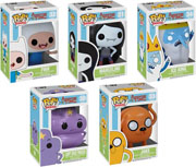 Funko Pop Vinyl Adventure Time Jake Finn Ice King Marceline Lumpy Princess