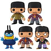 Pop Vinyl Beatles Yellow Submarine Set of 5
