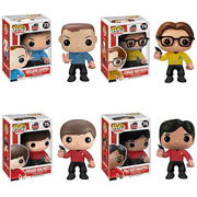 Funko Pop Vinyl Big Bang Theory Star Trek Sheldon Leonard Raj Howard Figure