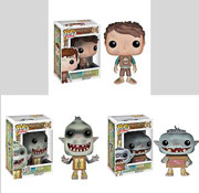 Funko Pop Vinyl Box Trolls Eggs Fish Shoe Figure