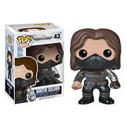 Funko Pop Vinyl Captain America Movie 2 Unmasked Winter Soldier Figure