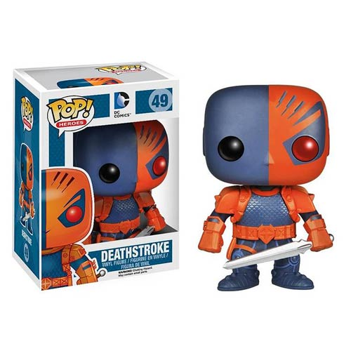 Funko Pop Superstore Toys Comics Collectibles: Funko Pop Vinyl DC Comics Deathstroke Previews Exclusive