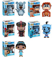 Funko Pop Disney Jungle Book Baloo King Louie Aladdin Blue Genie Jafar Princess Jasmine