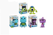 Funko Pop Vinyl Disney Monster University Set Sully Mike Wazowski Randall
