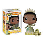 Funko Pop Vinyl Disney Princess and the Frog Princess Tiana and Naveen the Frog Figure