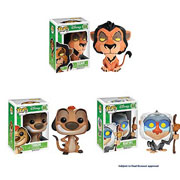 Funko Pop Vinyl Disney The Lion King Scar Timon Rafiki