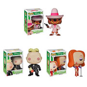 Funko Pop Vinyl Who Framed Roger Rabbit Smarty Weasel Judge Doom Jessica Rabbit Figure