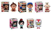 Funko Pop Vinyl Disney Wreck It Ralph Fix It Felix Jr King Candy Ralph Turbo Vaneloppe Figure