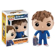 Funko Pop Vinyl Doctor Who 10th Doctor David Tennant with Hand
