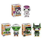 Funko Pop Vinyl Dragon Ball Z Freiza Perfect Cell Piccolo Figure