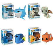 Funko Pop Vinyl Disney Finding Nemo Bruce Crush Dory Nemo Figure