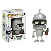 Funko Pop Vinyl Futurama Bender Figure