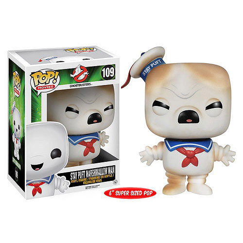 Funko Pop Superstore Toys Comics Collectibles: Funko Pop Vinyl Ghostbusters Toasted Stay Puft Marshmallow