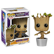 Funko Pop Vinyl Guardians of the Galaxy Dancing Groot Bobble Head Figure