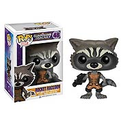 Funko Pop Vinyl Marvel Guardians of the Galaxy Rocket Raccoon Previews Exclusive Figure