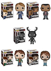 Funko Pop Vinyl Hannibal TV Series Hannibal Jack Crawford Wendigo Will Graham Will Graham Straitjacket Figure
