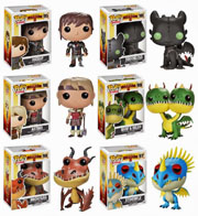 Funko Pop Vinyl How to Train Your Dragon Movie Astrid Belch Barf Hiccup Hookfang Stormfly Toothless Figure