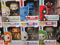 Funko Pop Vinyl Figure Marvel Deadpool Beast Ghost Rider Dark Phoenix Silver Surfer Doctor Doom