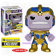 Funko Pop Vinyl Marvel Guardians of the Galaxy Thanos Figure Entertainment Earth Exclusive