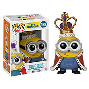 Funko Pop Minions Movie King Bob Figure