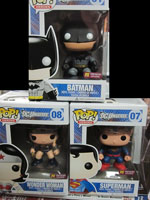Funko DC Pop Vinyl Previews Exclusives Batman Superman Wonder Woman