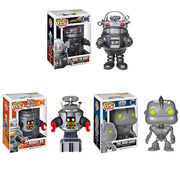 Funko Pop Vinyl Forbidden Planet Robby the Robot Lost in Space B-9 The Iron Giant