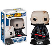 Funko Pop Vinyl Star Wars Darth Vader Unmasked Bobblehead Figure