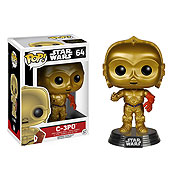 Funko Pop Vinyl Star Wars Episode VII 7 The Force Awakens C3P0 Figure